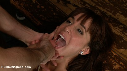 Photo number 13 from Gia DiMarco gets Double Penetrated at a Public Bar shot for Public Disgrace on Kink.com. Featuring James Deen and Gia DiMarco in hardcore BDSM & Fetish porn.