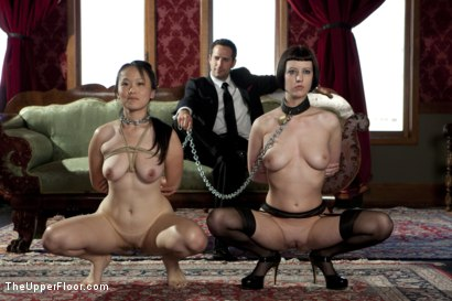 Photo number 5 from Fresh Meat: Madeleine shot for The Upper Floor on Kink.com. Featuring Cherry Torn, Madeleine Mei and Maestro in hardcore BDSM & Fetish porn.