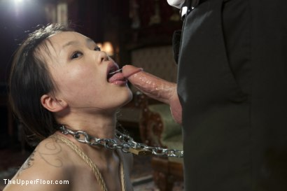 Photo number 11 from Fresh Meat: Madeleine shot for The Upper Floor on Kink.com. Featuring Cherry Torn, Madeleine Mei and Maestro in hardcore BDSM & Fetish porn.