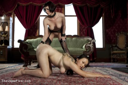 Photo number 7 from Fresh Meat: Madeleine shot for The Upper Floor on Kink.com. Featuring Cherry Torn, Madeleine Mei and Maestro in hardcore BDSM & Fetish porn.