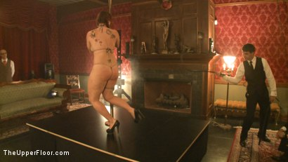Photo number 2 from Upper Floor Pole Party shot for The Upper Floor on Kink.com. Featuring Cherry Torn, Bella Rossi, Hollie Stevens, Sarah Shevon and Holly Heart in hardcore BDSM & Fetish porn.