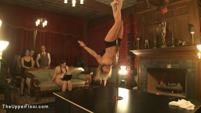 Photo number 13 from Upper Floor Pole Party shot for The Upper Floor on Kink.com. Featuring Cherry Torn, Bella Rossi, Hollie Stevens, Sarah Shevon and Holly Heart in hardcore BDSM & Fetish porn.