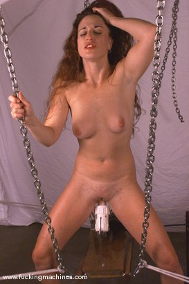 Photo number 11 from Andi shot for Fucking Machines on Kink.com. Featuring Andi in hardcore BDSM & Fetish porn.