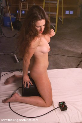 Photo number 14 from Andi shot for Fucking Machines on Kink.com. Featuring Andi in hardcore BDSM & Fetish porn.
