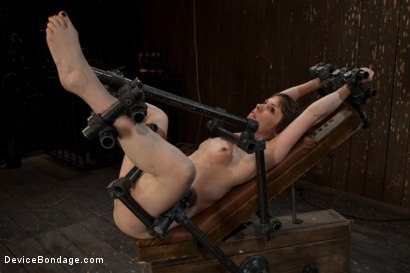 Photo number 1 from Q. How many girls can we make cry from intense multiple orgasms?<br>A. All of them... shot for Device Bondage on Kink.com. Featuring Seda in hardcore BDSM & Fetish porn.