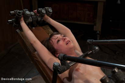 Photo number 14 from Q. How many girls can we make cry from intense multiple orgasms?<br>A. All of them... shot for Device Bondage on Kink.com. Featuring Seda in hardcore BDSM & Fetish porn.