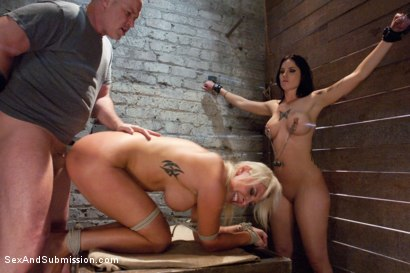 Photo number 11 from Bitch Fight shot for Sex And Submission on Kink.com. Featuring Tricia Oaks, Skylar Price and Mark Davis in hardcore BDSM & Fetish porn.