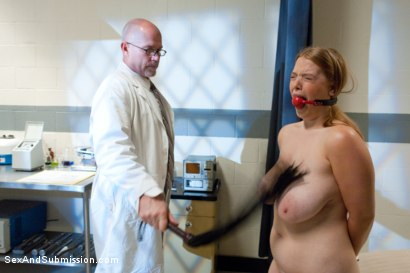 Photo number 3 from Big Tits Clinic shot for Sex And Submission on Kink.com. Featuring Mark Davis and Sierra Skye in hardcore BDSM & Fetish porn.