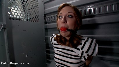 Photo number 2 from Do You Know Where Your Daughter Is? shot for Public Disgrace on Kink.com. Featuring Mark Davis and Emma Haize in hardcore BDSM & Fetish porn.