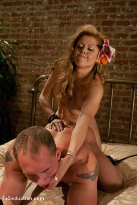 Photo number 9 from Star Fucking shot for TS Seduction on Kink.com. Featuring Johanna B and John Magnum in hardcore BDSM & Fetish porn.