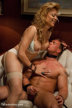 Photo number 2 from Star Fucking shot for TS Seduction on Kink.com. Featuring Johanna B and John Magnum in hardcore BDSM & Fetish porn.