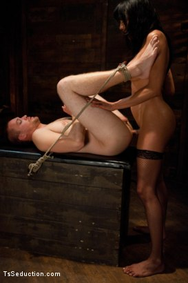 Photo number 9 from Silence is denial shot for TS Seduction on Kink.com. Featuring Yasmin Lee and Rocky in hardcore BDSM & Fetish porn.
