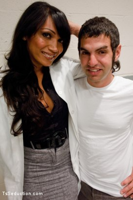 Photo number 1 from Experimental Clinic shot for TS Seduction on Kink.com. Featuring Yasmin Lee and Reuven in hardcore BDSM & Fetish porn.