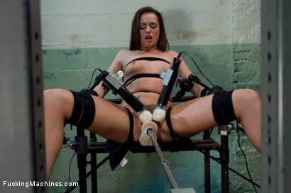 Photo number 4 from Back in Black <br> part 3 of 5 of the Live Show shot for Fucking Machines on Kink.com. Featuring Tori Black in hardcore BDSM & Fetish porn.