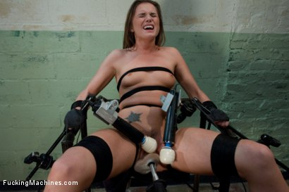 Photo number 8 from Back in Black <br> part 3 of 5 of the Live Show shot for Fucking Machines on Kink.com. Featuring Tori Black in hardcore BDSM & Fetish porn.