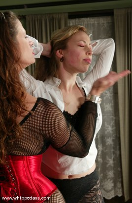 Photo number 2 from Adrianna Nicole and Kym Wilde shot for Whipped Ass on Kink.com. Featuring Adrianna Nicole and Kym Wilde in hardcore BDSM & Fetish porn.