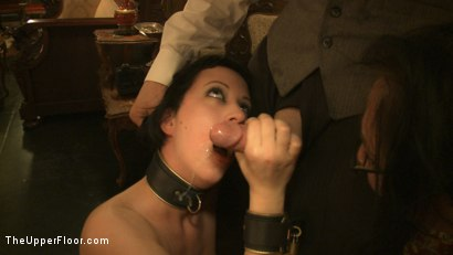 Photo number 12 from Topless Tapas Training Session shot for The Upper Floor on Kink.com. Featuring Cherry Torn, Sarah Shevon and Maggie Mayhem in hardcore BDSM & Fetish porn.