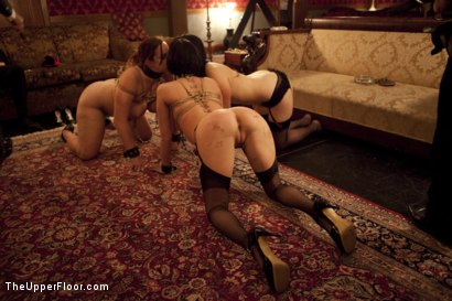 Photo number 11 from Cigars Scotch and Blowjobs shot for The Upper Floor on Kink.com. Featuring Cherry Torn and Bella Rossi in hardcore BDSM & Fetish porn.