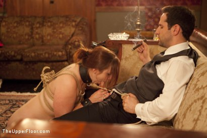 Photo number 13 from Cigars Scotch and Blowjobs shot for The Upper Floor on Kink.com. Featuring Cherry Torn and Bella Rossi in hardcore BDSM & Fetish porn.