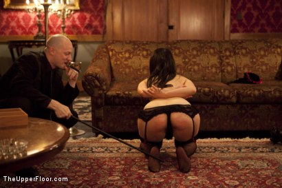 Photo number 4 from Cigars Scotch and Blowjobs shot for The Upper Floor on Kink.com. Featuring Cherry Torn and Bella Rossi in hardcore BDSM & Fetish porn.