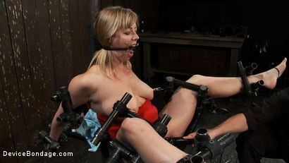Photo number 11 from Drool + Big Natural Tits = Something Very Special Indeed shot for Device Bondage on Kink.com. Featuring Adrianna Nicole in hardcore BDSM & Fetish porn.