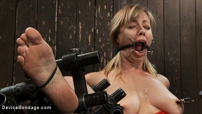 Photo number 12 from Drool + Big Natural Tits = Something Very Special Indeed shot for Device Bondage on Kink.com. Featuring Adrianna Nicole in hardcore BDSM & Fetish porn.