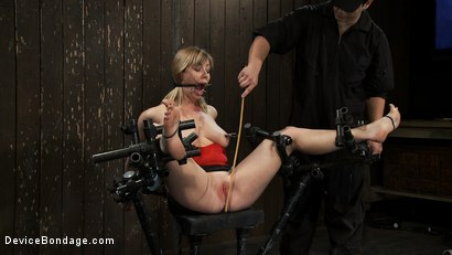 Photo number 10 from Drool + Big Natural Tits = Something Very Special Indeed shot for Device Bondage on Kink.com. Featuring Adrianna Nicole in hardcore BDSM & Fetish porn.