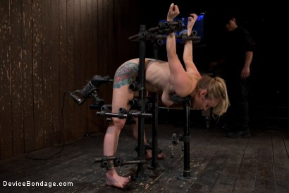Photo number 6 from Tough Titty shot for Device Bondage on Kink.com. Featuring Adrianna Nicole in hardcore BDSM & Fetish porn.