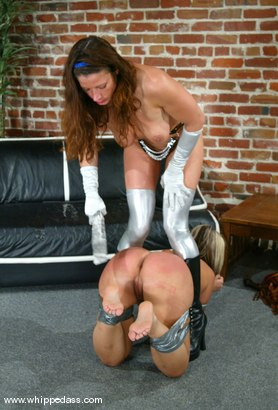 Photo number 5 from Girlie and Kym Wilde shot for Whipped Ass on Kink.com. Featuring Girlie and Kym Wilde in hardcore BDSM & Fetish porn.
