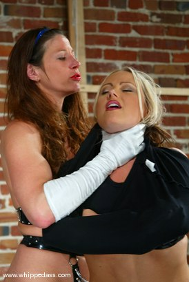 Photo number 2 from Girlie and Kym Wilde shot for Whipped Ass on Kink.com. Featuring Girlie and Kym Wilde in hardcore BDSM & Fetish porn.