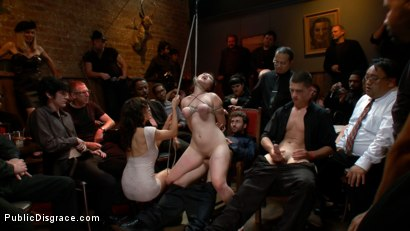 Photo number 11 from Newbie - Asian Amateur Ass Fucked and Humiliated shot for Public Disgrace on Kink.com. Featuring James Deen and Madeleine Mei in hardcore BDSM & Fetish porn.