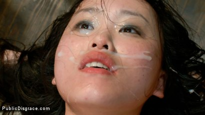 Photo number 14 from Newbie - Asian Amateur Ass Fucked and Humiliated shot for Public Disgrace on Kink.com. Featuring James Deen and Madeleine Mei in hardcore BDSM & Fetish porn.