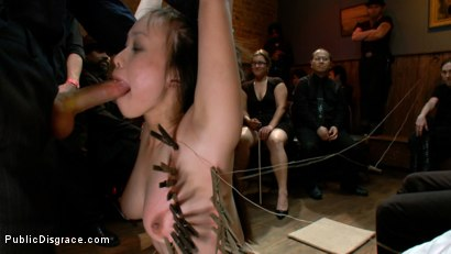 Photo number 10 from Newbie - Asian Amateur Ass Fucked and Humiliated shot for Public Disgrace on Kink.com. Featuring James Deen and Madeleine Mei in hardcore BDSM & Fetish porn.