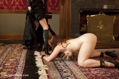 Photo number 1 from Tea with Mistress Liliane Hunt shot for The Upper Floor on Kink.com. Featuring Cherry Torn, Bella Rossi and Liliane Hunt in hardcore BDSM & Fetish porn.