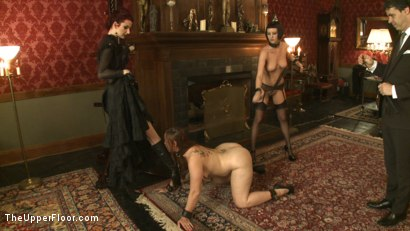 Photo number 12 from Tea with Mistress Liliane Hunt shot for The Upper Floor on Kink.com. Featuring Cherry Torn, Bella Rossi and Liliane Hunt in hardcore BDSM & Fetish porn.