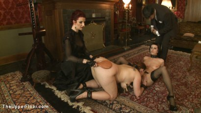 Photo number 13 from Tea with Mistress Liliane Hunt shot for The Upper Floor on Kink.com. Featuring Cherry Torn, Bella Rossi and Liliane Hunt in hardcore BDSM & Fetish porn.