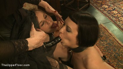 Photo number 15 from Tea with Mistress Liliane Hunt shot for The Upper Floor on Kink.com. Featuring Cherry Torn, Bella Rossi and Liliane Hunt in hardcore BDSM & Fetish porn.