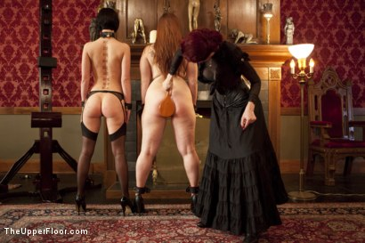 Photo number 5 from Tea with Mistress Liliane Hunt shot for The Upper Floor on Kink.com. Featuring Cherry Torn, Bella Rossi and Liliane Hunt in hardcore BDSM & Fetish porn.