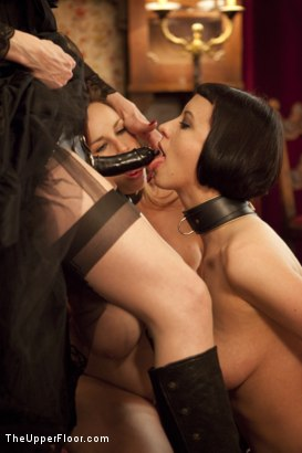 Photo number 9 from Tea with Mistress Liliane Hunt shot for The Upper Floor on Kink.com. Featuring Cherry Torn, Bella Rossi and Liliane Hunt in hardcore BDSM & Fetish porn.
