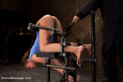 Photo number 6 from Nubile unit gets fucked harder then she has ever been fucked before!!!  shot for Device Bondage on Kink.com. Featuring Allie Haze in hardcore BDSM & Fetish porn.