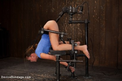 Photo number 9 from Nubile unit gets fucked harder then she has ever been fucked before!!!  shot for Device Bondage on Kink.com. Featuring Allie Haze in hardcore BDSM & Fetish porn.