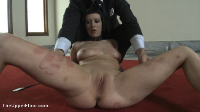 Photo number 1 from Service Session: Mopping up the Floor with Torn shot for The Upper Floor on Kink.com. Featuring Cherry Torn in hardcore BDSM & Fetish porn.
