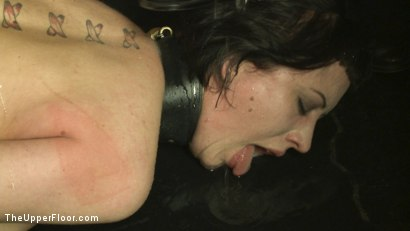 Photo number 11 from Service Session: Mopping up the Floor with Torn shot for The Upper Floor on Kink.com. Featuring Cherry Torn in hardcore BDSM & Fetish porn.