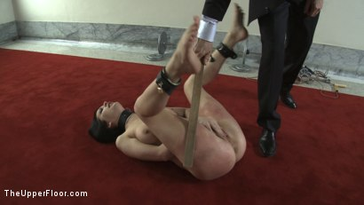 Photo number 2 from Service Session: Mopping up the Floor with Torn shot for The Upper Floor on Kink.com. Featuring Cherry Torn in hardcore BDSM & Fetish porn.
