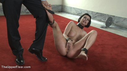 Photo number 4 from Service Session: Mopping up the Floor with Torn shot for The Upper Floor on Kink.com. Featuring Cherry Torn in hardcore BDSM & Fetish porn.