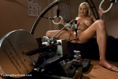 Photo number 3 from Exercising the puss shot for Fucking Machines on Kink.com. Featuring Lylith Lavey in hardcore BDSM & Fetish porn.