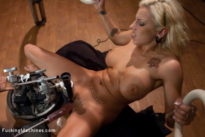 Photo number 6 from Exercising the puss shot for Fucking Machines on Kink.com. Featuring Lylith Lavey in hardcore BDSM & Fetish porn.