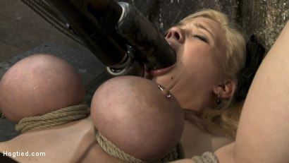 Photo number 12 from Huge bound breasts<br> and plenty of squirting. shot for Hogtied on Kink.com. Featuring Katie Kox in hardcore BDSM & Fetish porn.