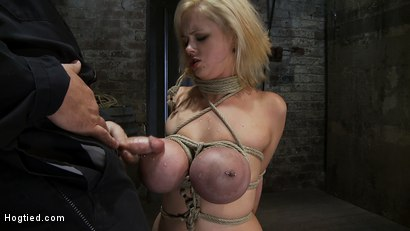Photo number 14 from EXTRA BONUS UPDATE!<br>Bound deep throat shot for Hogtied on Kink.com. Featuring Katie Kox in hardcore BDSM & Fetish porn.