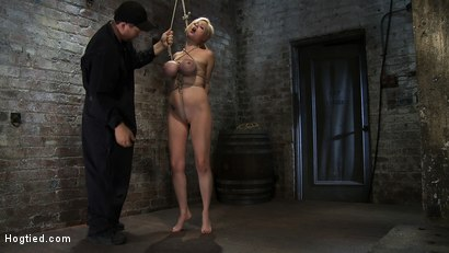 Photo number 4 from EXTRA BONUS UPDATE!<br>Bound deep throat shot for Hogtied on Kink.com. Featuring Katie Kox in hardcore BDSM & Fetish porn.